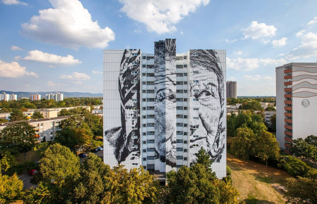 """Vera"" by ECB in Mannheim, Germany"