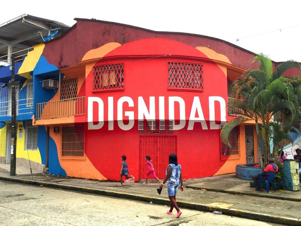 """""""Dignidad"""" by BoaMistura in Buenaventura, Colombia"""