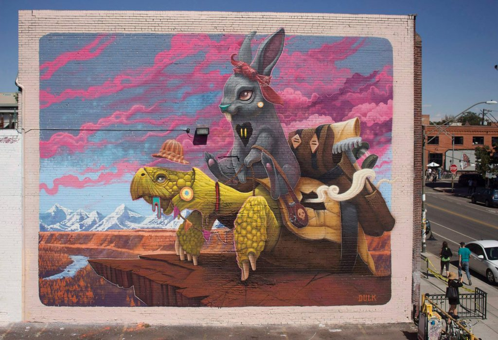 """The Tortoise & Harriet"" by Dulk in Denver"