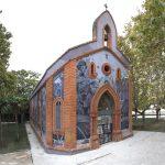 Aryz & SAN take over a chapel in Zaragoza, Spain