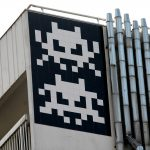 """PA_1234 – PA_1243"" by Invader in Paris"
