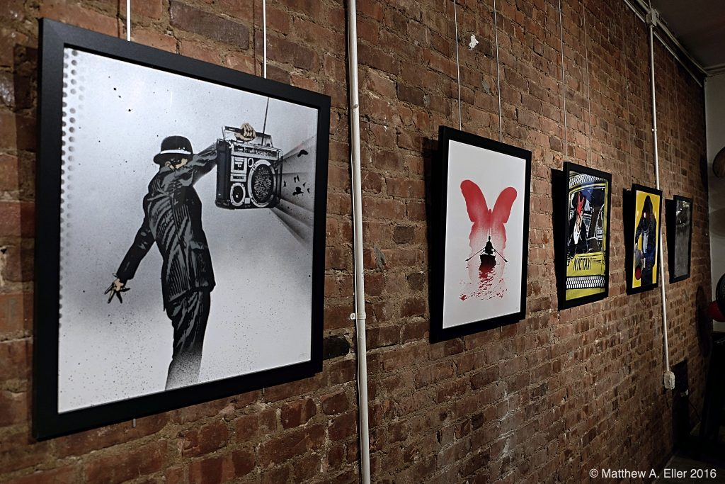 "Coverage: Nick Walker ""The Last Ride"" a Solo Exhibition at Wall Works in The Bronx, NYC"