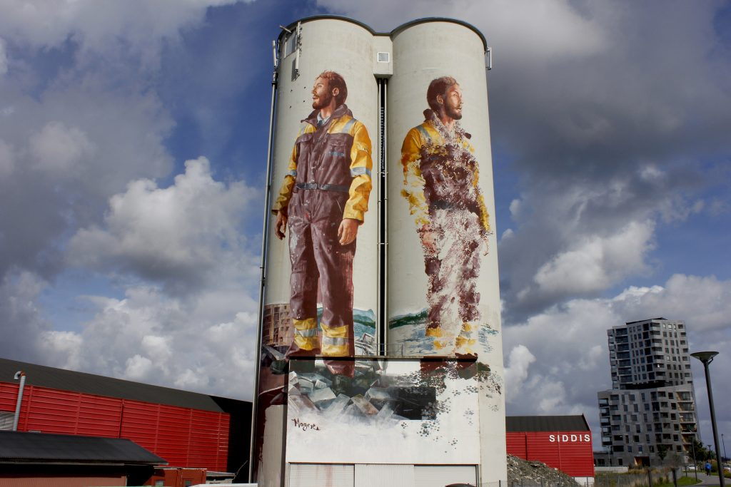 Fintan Magee in Stavanger, Norway
