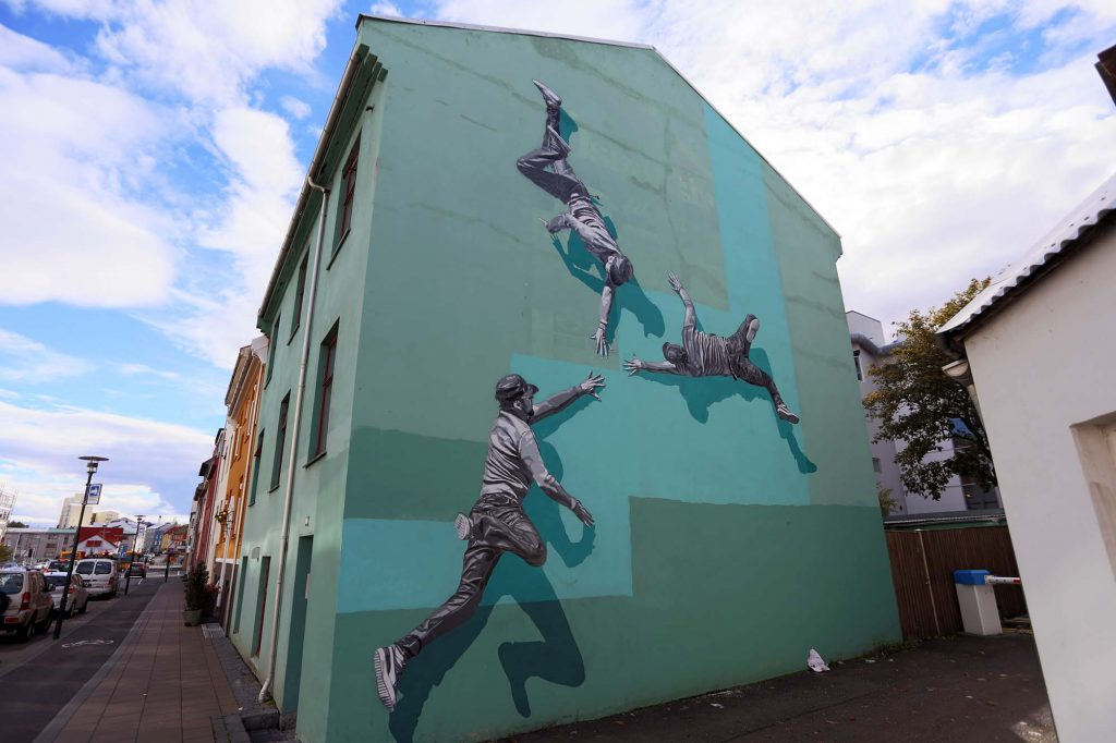 Wall Poetry '16: Strøk in Reykjavik, Iceland
