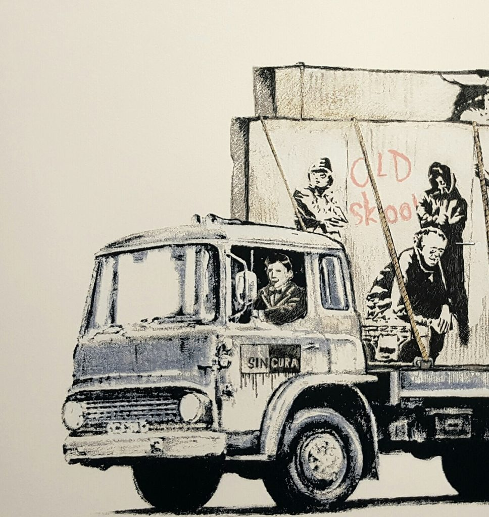 "Gonefellow ""Graffiti Truck The Parody"" Limited Edition Print Release"