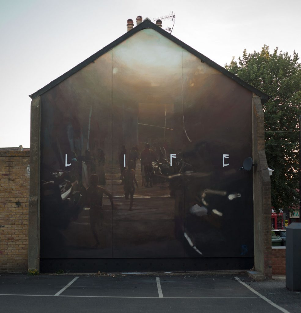 """Life"" by Axel Void in London"