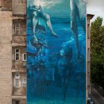 """Blue in Green"" by Sepe & Chazme in Budapest"