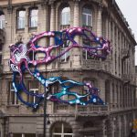 """Hyperbolic"" an Installation by Crystal Wagner in Lodz, Poland"