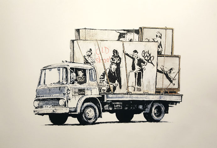"Gonefellow ""Graffiti Truck The Parody"" Limited Edition Screenprint Release"