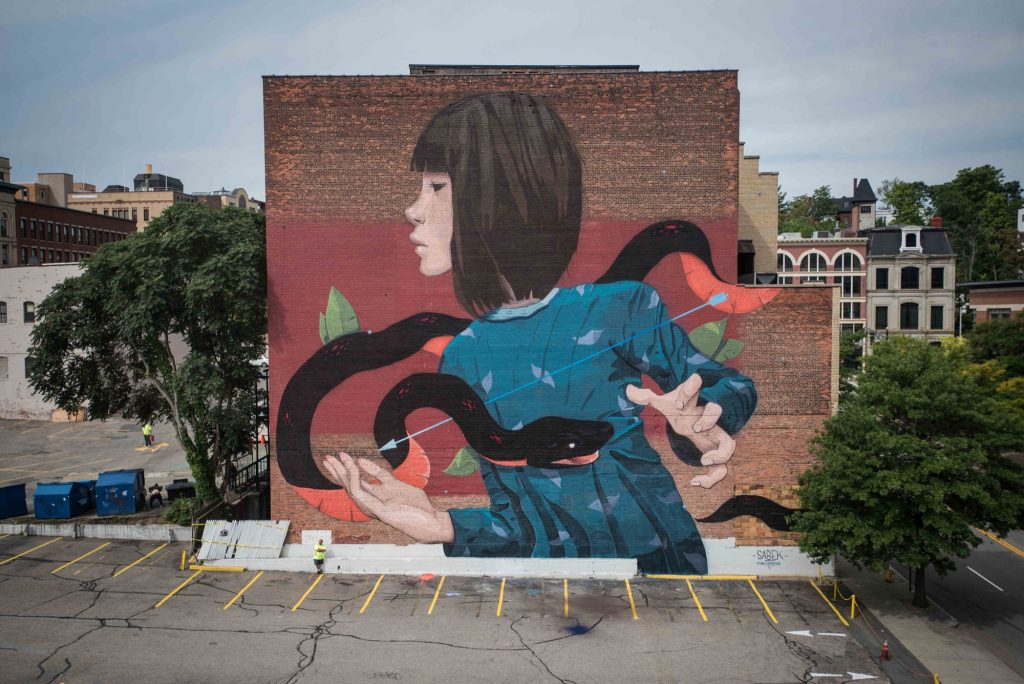 """Reversible"" by Sabek in Worcester, USA"