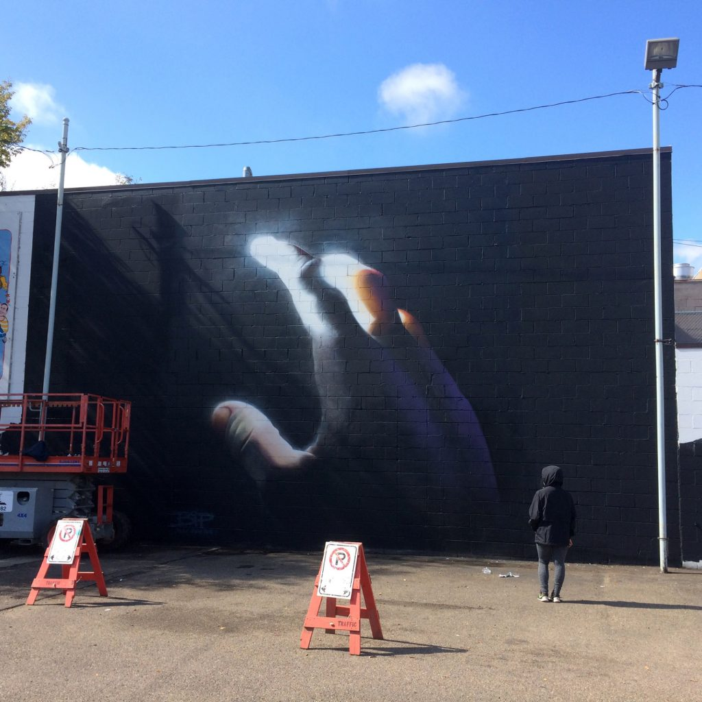 """Color Mutiny"" by BiP in Edmonton, Canada"