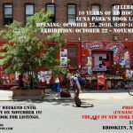 Preview: Ad Hoc's 10th Anniversary & Luna Park Book release at 17 Frost Gallery, NYC