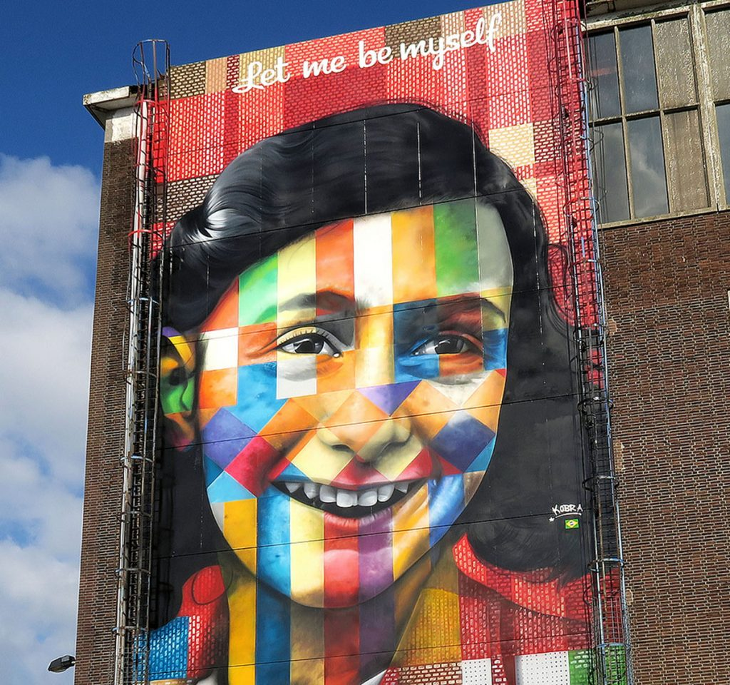 """Let Me Be Myself"" by Kobra in Amsterdam"