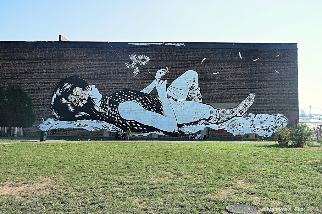 """The Greenest Point Murals"" by Faile, Askew1, & Vexta in Brooklyn, NYC"
