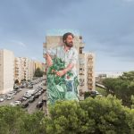 """""""The Gardener"""" by Fintan Magee in Ragusa, Italy"""