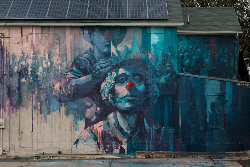 """Another Brick In The Wall"" by Sepe in Washington DC"