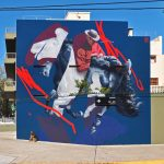 """The Pale Horse and its Rider"" by Telmo Miel in Buenos Aires"