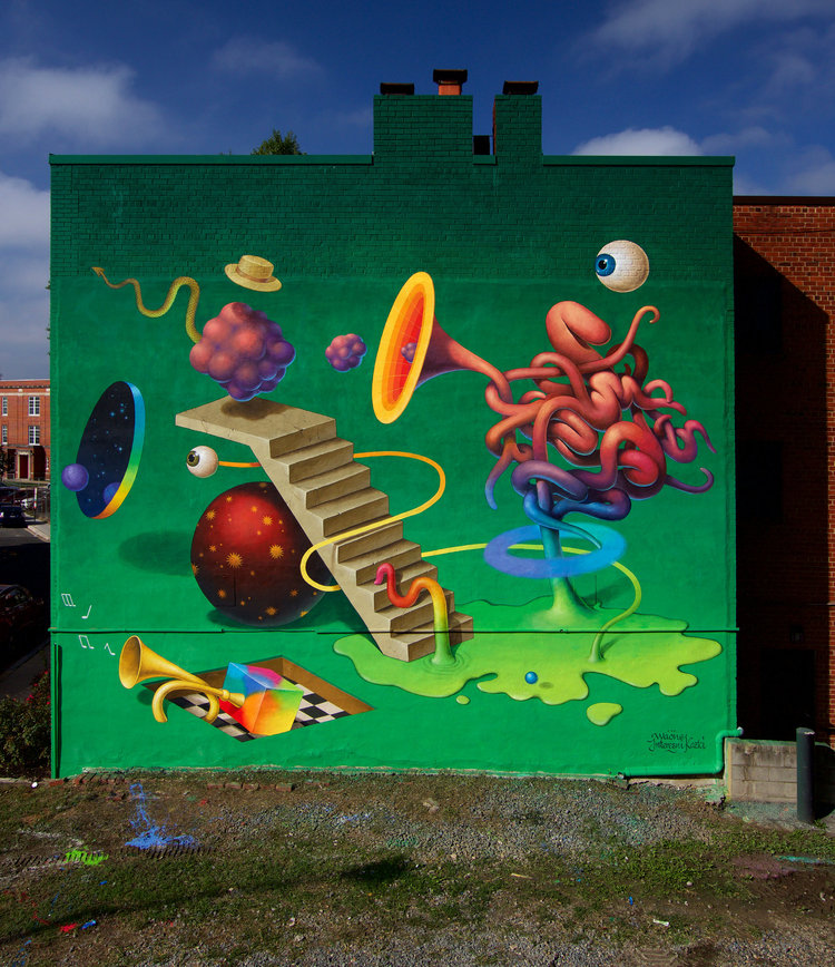 """Meaningful Movement"" by Waone in Washington D.C"