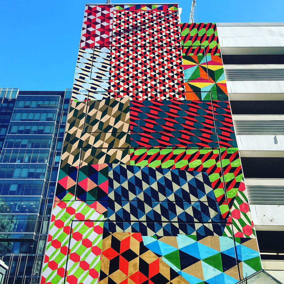 Good News Garage >> Barry McGee Installation @ Moscone Center Garage | StreetArtNews | StreetArtNews
