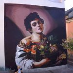 """Boy with a Basket of Fruit"" by Andrea Ravo Mattoni in Angera, Italy"
