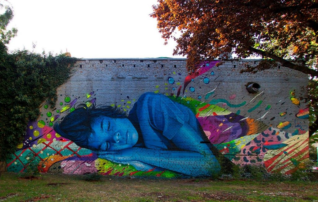 """Technicolor Dream"" by Lonac & Chez 186 in Zagreb, Croatia"