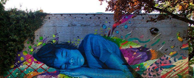"""""""Technicolor Dream"""" by Lonac & Chez 186 in Zagreb, Croatia"""