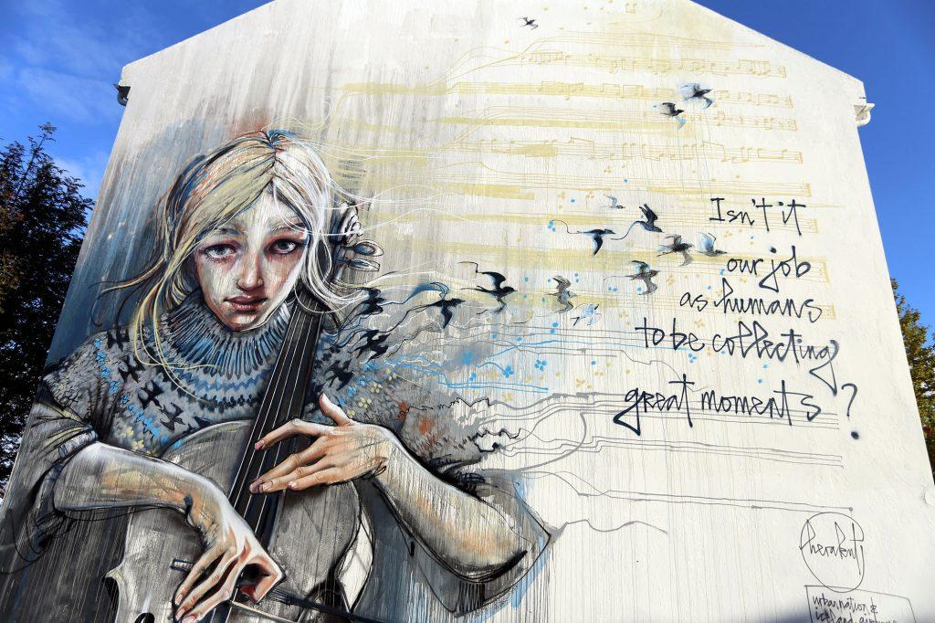 Wall Poetry '16: Herakut in Reykjavik
