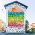 """A House For Everyone"" by Blu in Bergamo, Italy"