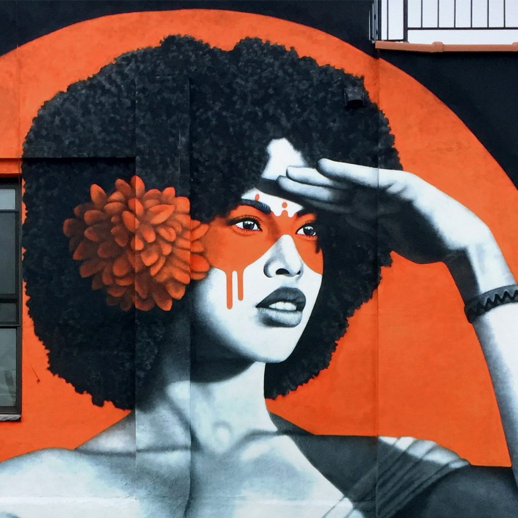 """The Watcher"" by Fin DAC in Bushwick"