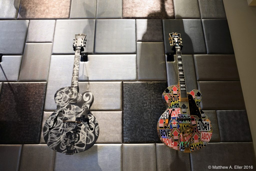 Preview: D'Angelico Guitars as Reimagined by 14 Artists Featuring Nick Walker, Above, AVSP, and many more NYC
