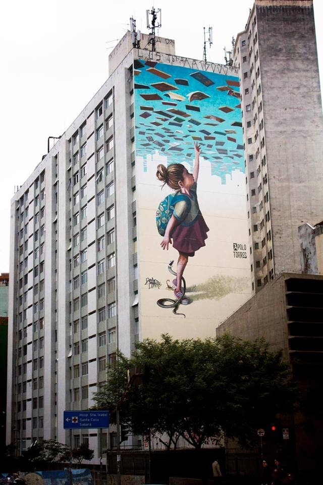 Artist interview apolo torres streetartnews - Range magazine mural ...
