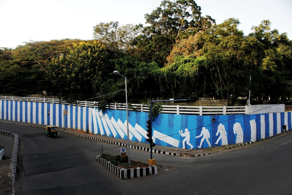 """Background subtraction"" by Daan Botlek in Bangalore, India"