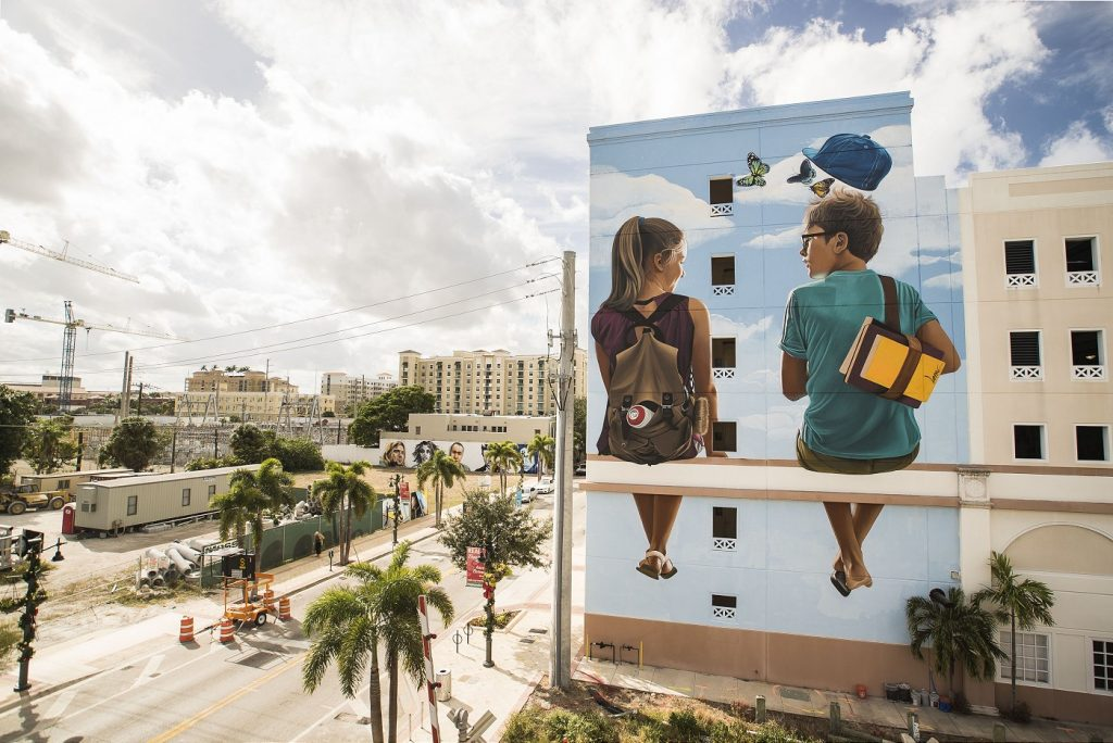 """I lost my shoe when I saw you"" by Lonac in West Palm Beach, FL"