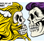"D*FACE ""Till Death Do Us (P)art"" Print Release 16.12.16"