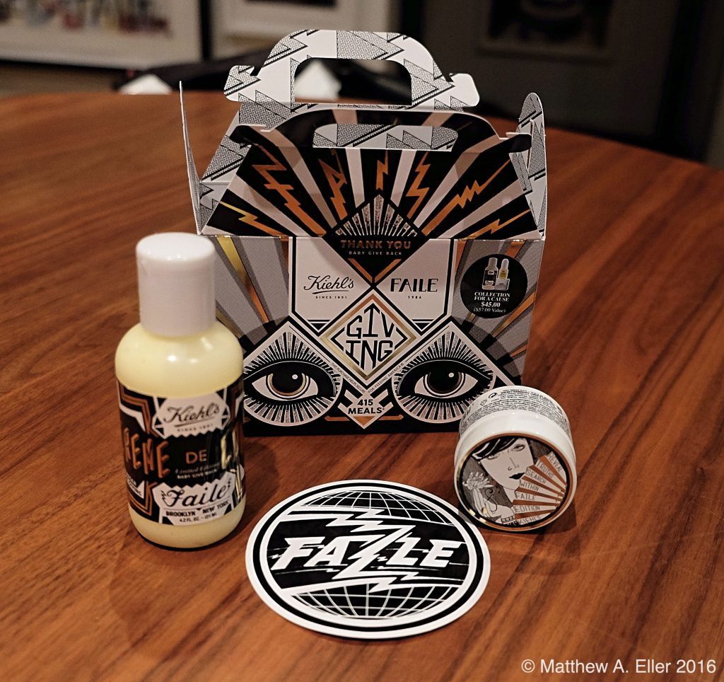 "Faile x Kiehl's ""Collection For A Cause"" Available Now"