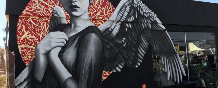 """""""Resurrection of Angels"""" by Fin DAC in Los Angeles"""