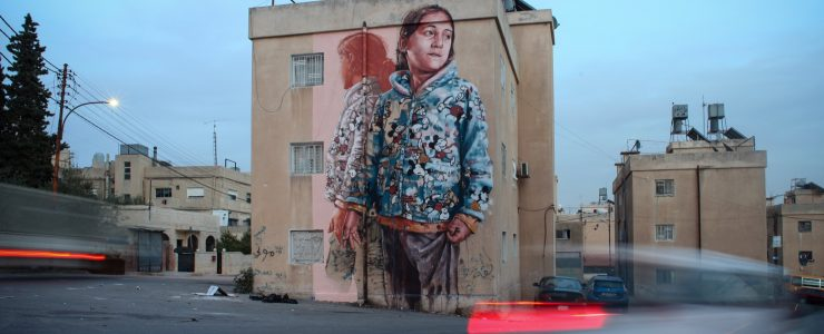 """The Exile"" by Fintan Magee in Amman, Jordan"