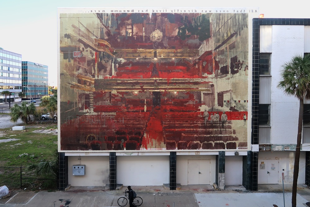 Borondo unveils new works in Spain and Florida