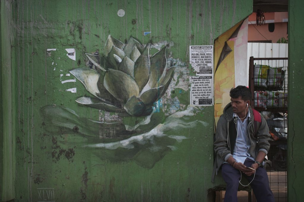 """La Petite Mort"" by Faith 47 in India"