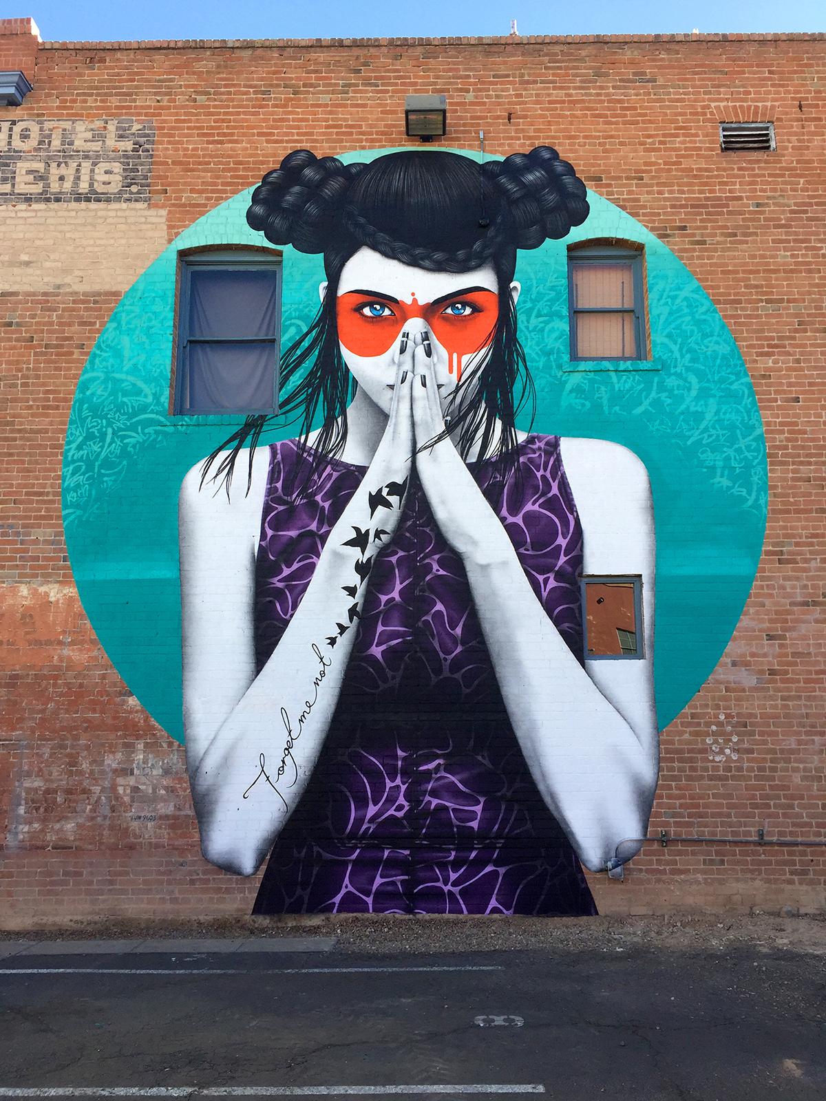 """Vergiss"" by Fin DAC in Tucson, Arizona"