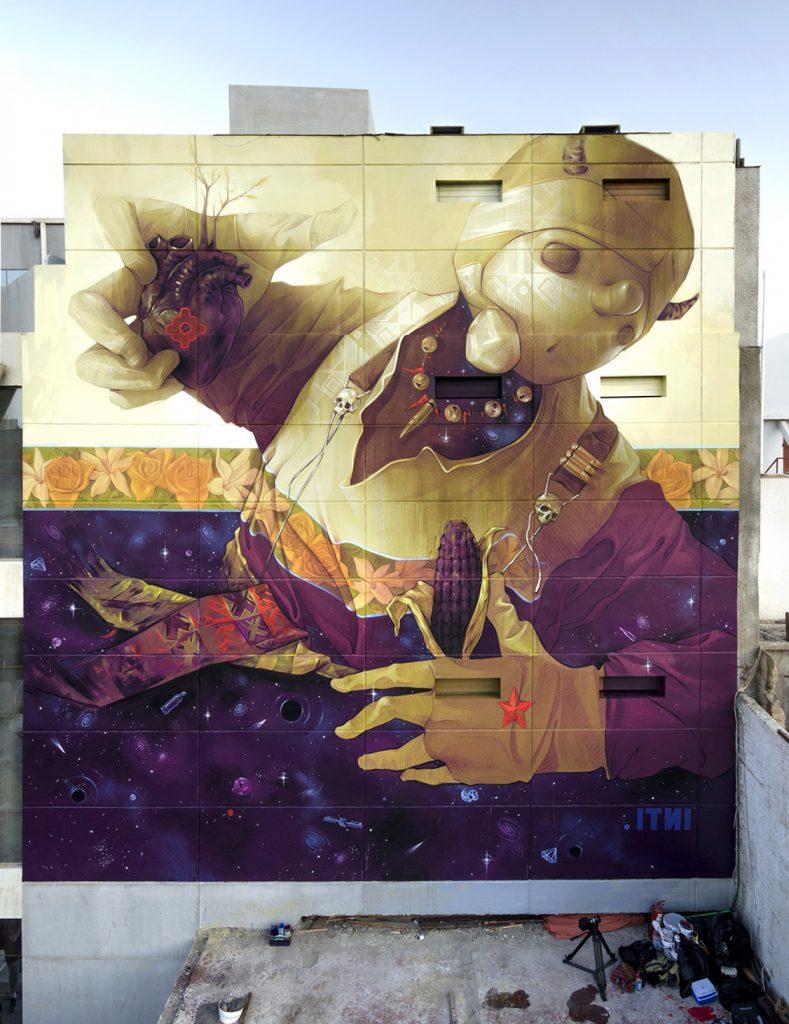 """""""PACHAKUTI"""" by INTI in Arica, Chile"""
