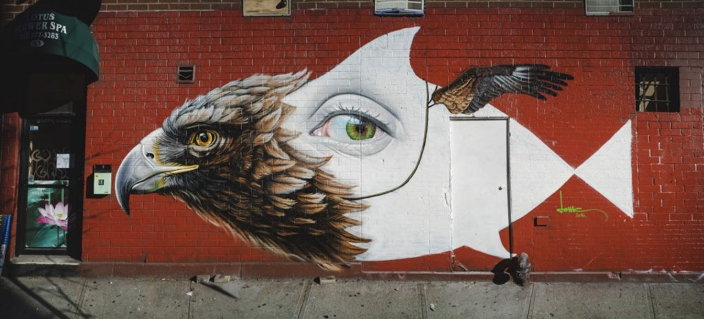 """Strange Bird"" by Lonac in NYC"