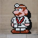 """PA_1251 – PA_1263"" by Invader in Paris"