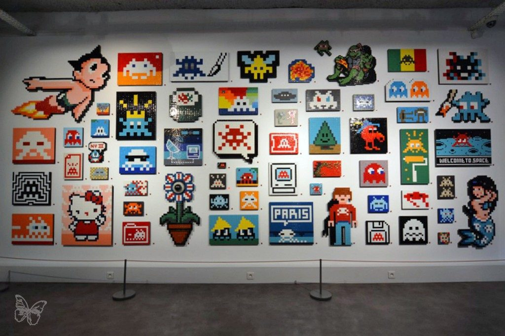 "Coverage: Invader ""Hello My Game is…""  @ Musee en Herbe in Paris"