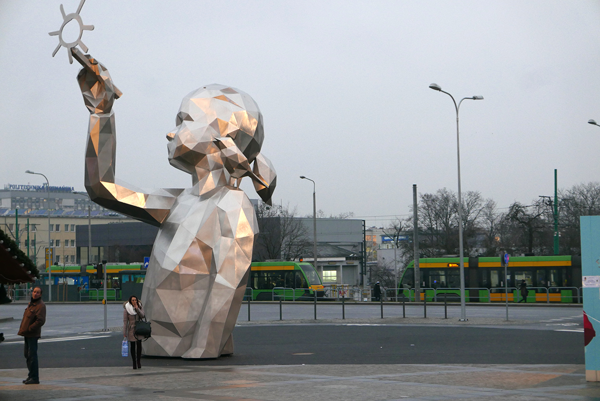 Monumental Sculpture Lucie By David Mesguich In Poznan