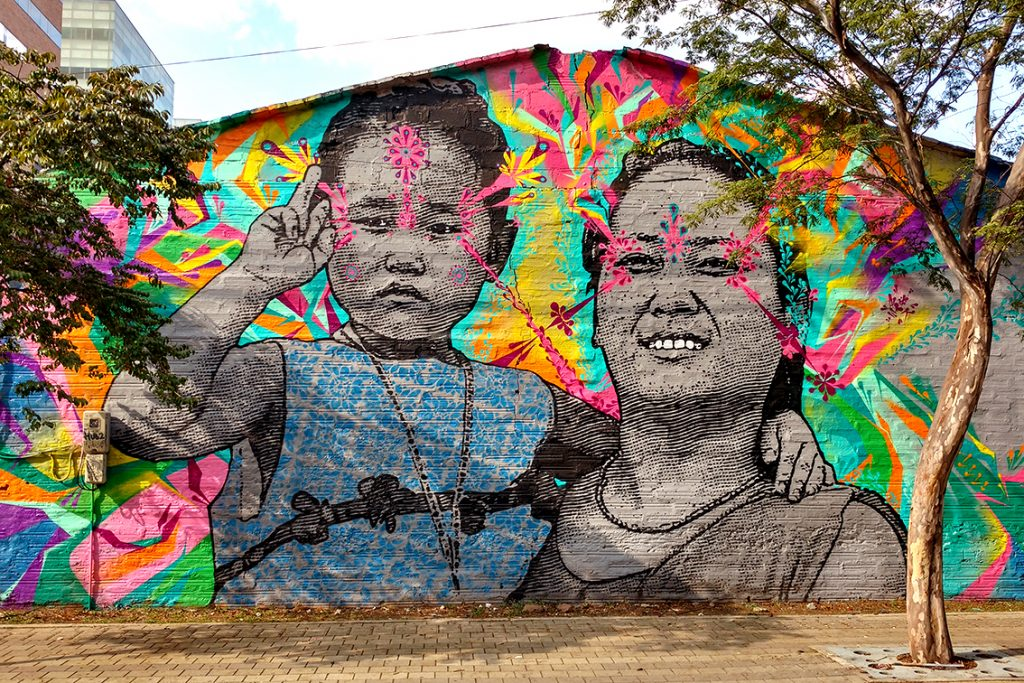 Stinkfish & Empty Boy collaborate in Medellín, Colombia
