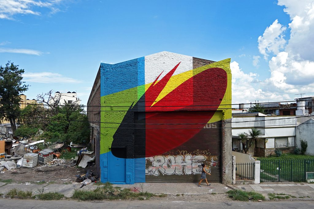 """This is not Make Up"" by Elian in Buenos Aires"