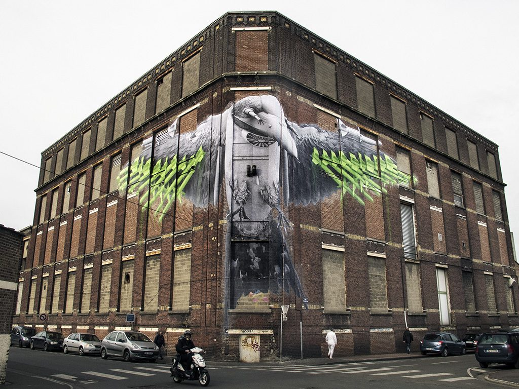 """Swallow"" by Ludo in Roubaix, France"