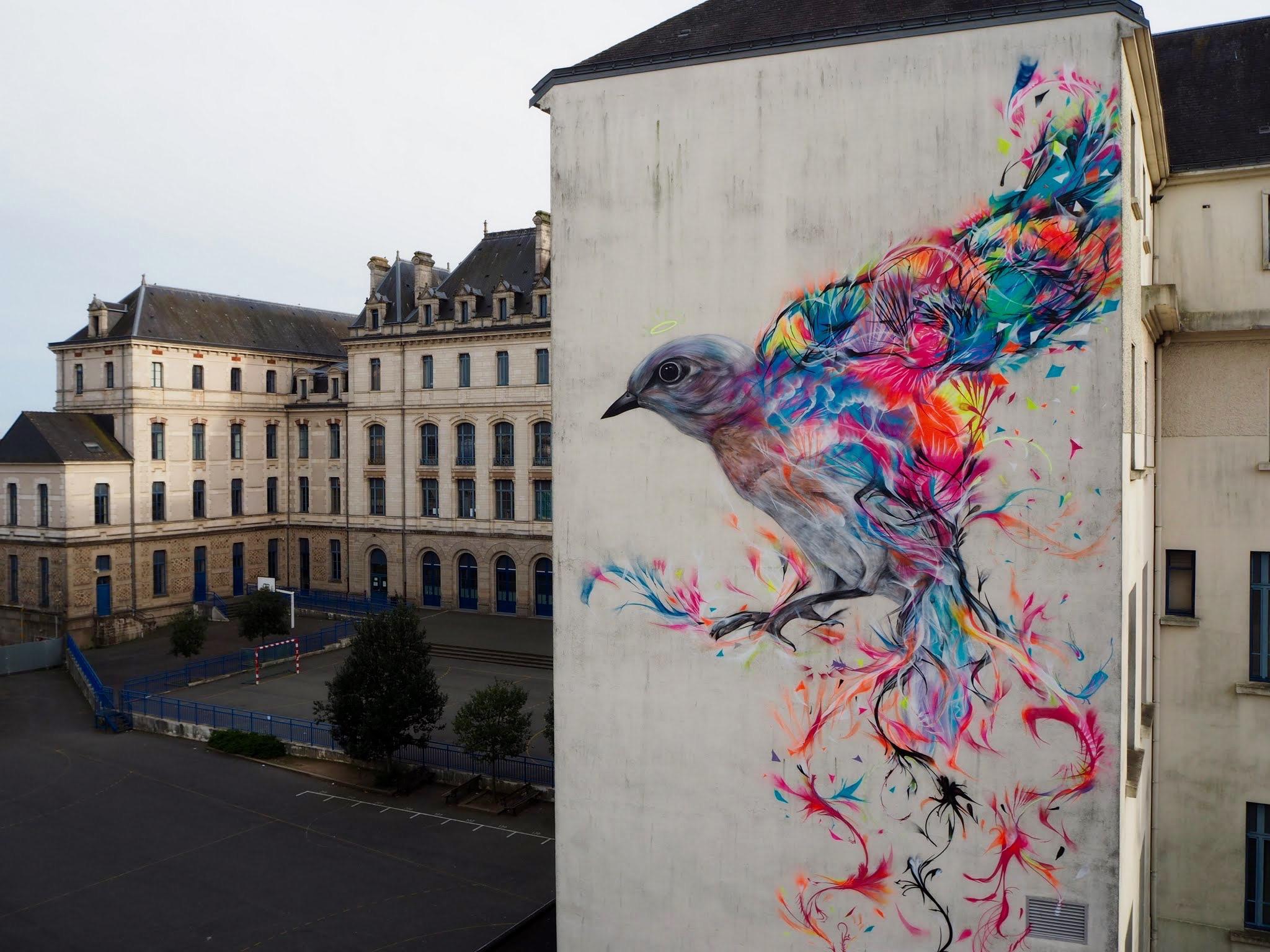 Le célèbre L7M In Vannes, France | StreetArtNews | StreetArtNews @BY_69