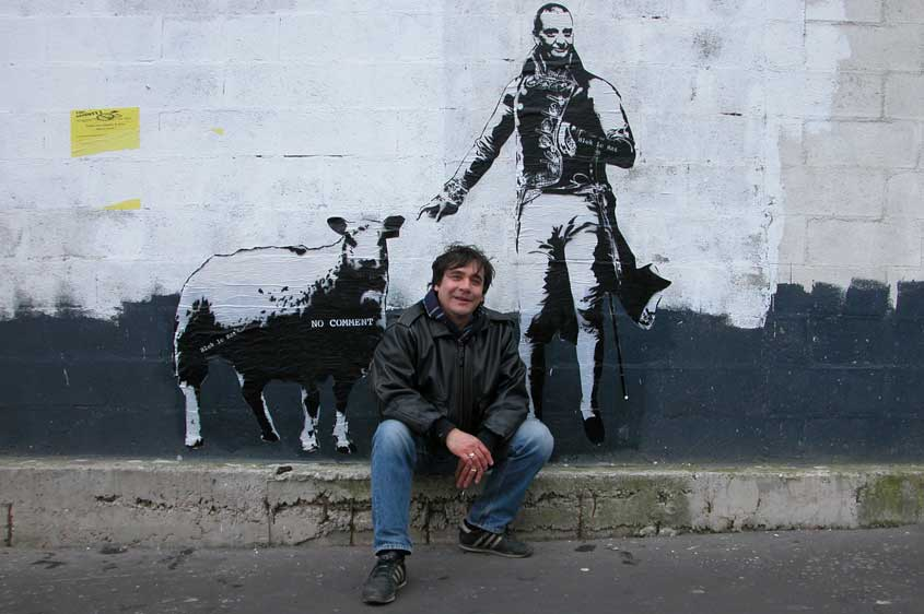 Artist Interview: Blek Le Rat